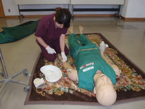 看護師救急車同乗実習1