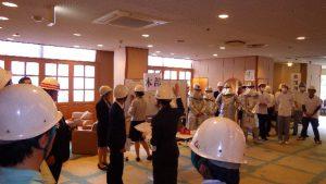 焼津グランドホテル消防訓練5