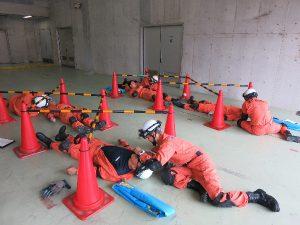 震災時対応訓練4