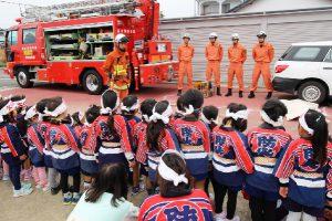 園児たちの防火パレード6