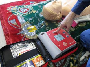 AEDの操作