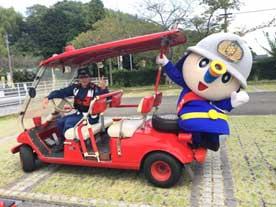 藤枝市女性消防防災フェスティバルの様子