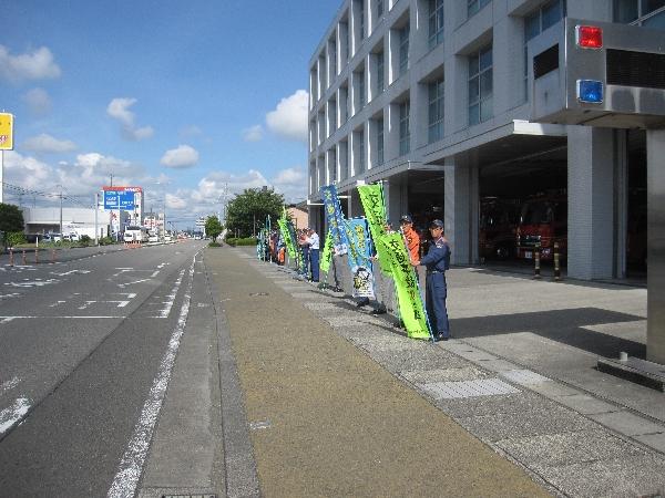 夏の交通安全県民運動1