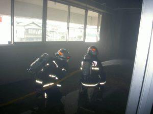 消防活動訓練3