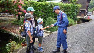 高草山のコルゲート水槽点検3