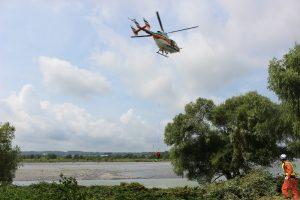 水難事故対応合同訓練1
