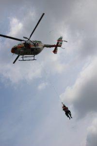 水難事故対応合同訓練2