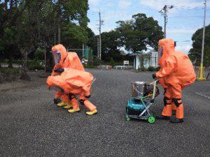 特殊災害対応合同訓練3