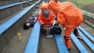 特殊災害対応合同訓練4