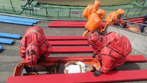 特殊災害対応合同訓練6