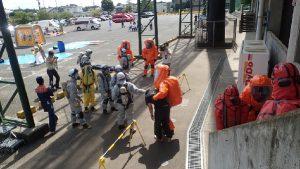 特殊災害対応合同訓練7