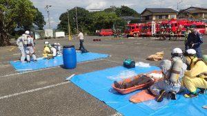特殊災害対応合同訓練8