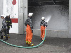 CAFS放水体験