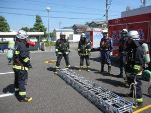 ■消防活動訓練
