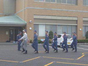 消防訓練礼式