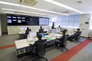 志太消防本部 消防指令センター