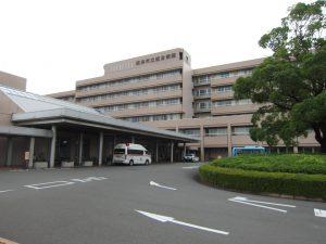 会場となった焼津市立総合病院