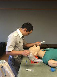 気管挿管訓練