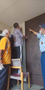 住宅用火災警報器の作動確認